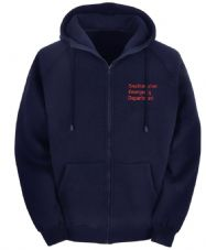 EMERGENCY DEPT ZIPPED HOODY
